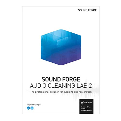 SOUND FORGE Audio Cleaning Lab 2 – The specialist tool for cleaning & restoration [PC Download]