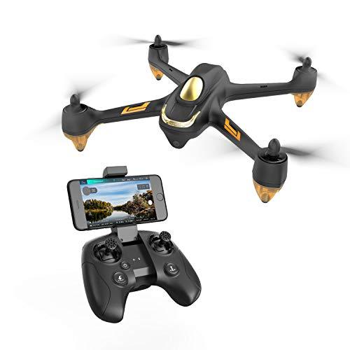 Hubsan H501M X4 Brushless Droni GPS 720P Telecamera FPV WiFi Quadricottero App Controllo con Trasmettitore HT009 (Grigio)