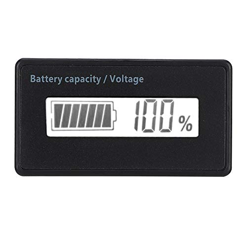 Buy Wendry Battery Meter, LCD Display Digital Battery Capacity Tester, Waterproof Battery Capacity M...