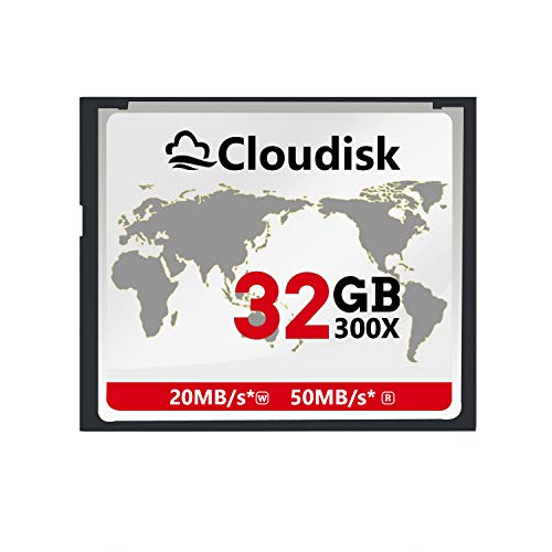 Cloudisk Compact Flash 32GB CF Card Memory Cards High Speed CompactFlash 32G Reader Camera Card for DSLR