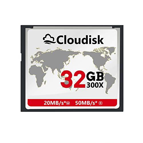 Cloudisk 32GB CF-Kaart Compact Flash Geheugenkaart prestaties voor fotocamera's