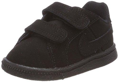 Nike Court Royale (TDV), Chaussures de Football Mixte Bébé, Noir, 27 EU
