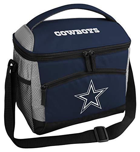 Rawlings NFL Soft Sided Insulated Cooler Bag Lunch Box, 12-Can Capacity, Dallas Cowboys