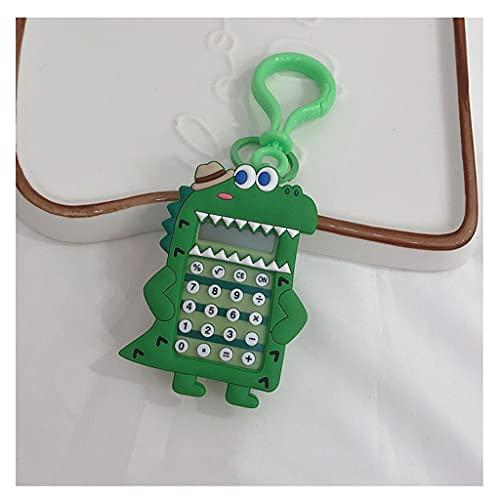 BENO Calculadoras Mini Calculadora con 8 Dígitos Pantalla Portátil Calculadora De Tamaño De Bolsillo para Niños Estudiantes Llavero Portátil calculadora portatil (Color : C)