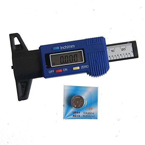 KATSU  Fibra de Carbono Electrónica Digital Rueda Profundidad de Neumático Medidor de Medida 40141563