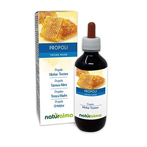 Propóleo (Propolis) resina Tintura Madre alcohólica NATURALMA | Extracto líquido gotas 200 ml | Complemento alimenticio