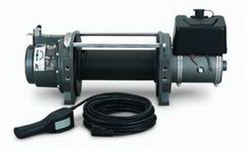 WARN 30279 Series 9 Industrial Hydraulic Winch , Black