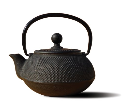 Old Dutch Cast Iron Sapporo Teapot, 20-Ounce, Black