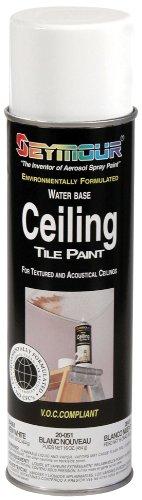 Seymour 20-051 Ceiling Tile Paint, New White