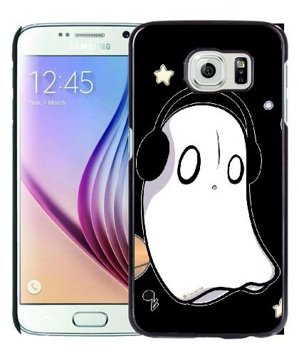 Undertale Napstablook Hard Plastic Phone Cell Case for Galaxy S6
