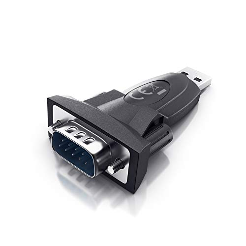 CSL - USB auf RS232 Seriell Adapter - Com Port - RS232 Konverter - Adapter für PDAs Modems Scanner Drucker Label Writer u.a