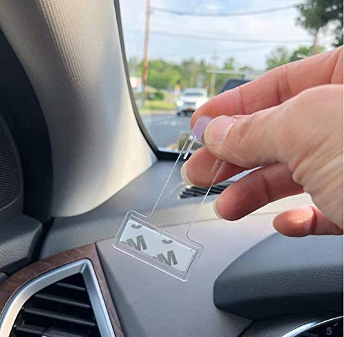 Autopower - Soporte para permisos de Aparcamiento (2 Unidades)