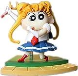 brandless Crayou Shin-Chan Figura Sailor Moon y Naruto Style Figura Anime Figura Anime Figurilla (Co...