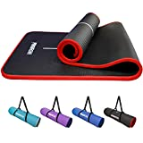 PROIRON Esterilla Yoga, Colchón para Yoga NBR Colchoneta Antideslizante Ideal para Pilates Ejercicios Fitness Gimnasia Estiramientos 183CM*66CM*1CM