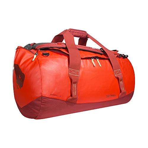 Tatonka Barrel L Reisetasche - 85 Liter - wasserfeste Tasche aus LKW-Plane mit Rucksackfunktion und großer Reißverschluss-Öffnung - Rucksacktasche 85l - Damen und Herren -...