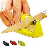 3 PCS FINDKING Dos etapas (Diamante y cerámica) Afilador de Cuchillos de Cocina Cuchillos Piedra de afilar Afilador de Cuchillos domésticos Herramientas de Cocina