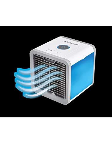 Mediashop Arctic Air Luftkühler 10W (L x B x H) 17 x 17 x 17cm Bianco, Grigio con wählbaren Stimmungs