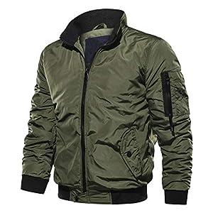 [YUNCLOS]メンズ ジャケット ma-1 ミリタリージャケット 中綿ジャケット ma1 男性用 ジャンバー ブルゾン メンズ 春秋冬