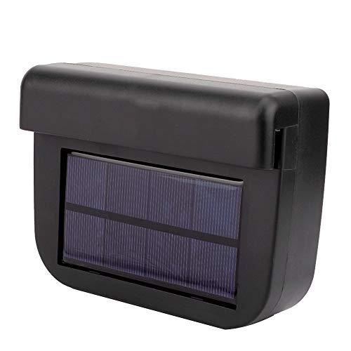Ventilador de refrigeración solar del coche, sistema de ventilación de ventilación del aire de la energía solar del automóvil