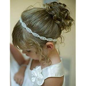 Schönes Holzperlen Blumen Haargummi Haarbinder Zopfgummi Haarband bunt farbig
