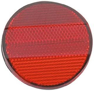 Lowrider Red Rear Reflector. Bike Part, Bicycle Part, Bicycle Reflector, Bike Reflector, Bike Part, Bicycle Part, Beach Cruiser, BMX, Chopper, Stretch.