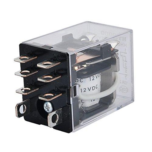 2PCS JQX-13F(D) DC 12V Coil DPDT 8Pin Power Electromagnetic Relay