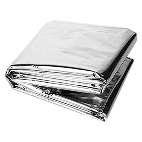Bolsa De Dormir De Emergencia Bolso para Dormir De Supervivencia Al Aire Libre para Acampar Manta Bolsas para Senderismo Caza Camping Mantener,160 X 210 Cm