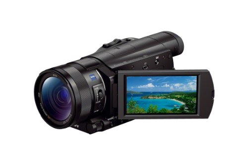 Sony FDR-AX100/B 4K Video Camera with 3.5-Inch LCD (Black) by Sony