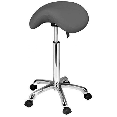 PONY Chair médico Taburete ergonómico de altura variable de 62 a 78 cm, diseño de PONY
