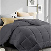 ASHOMELI Oversized King Quilted Comforter with Corner Tabs