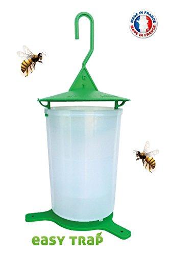 Asiatische Hornissenfalle, Fliege, Olivenfliege, 100 %, Innovativ, Hergestellt in Frankreich