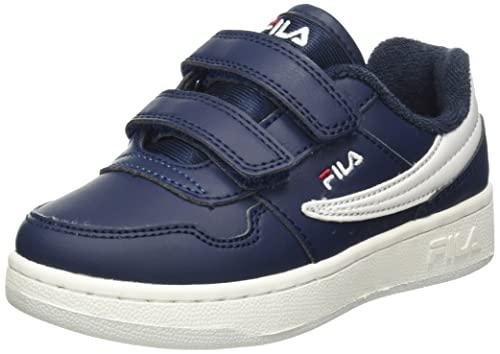 FILA Unisex Arcade Infants buty sportowe dla dzieci, niebieski - Fila Navy - 25 EU