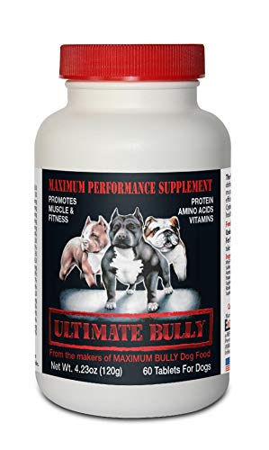 Ultimate Bully - Maximum Performance Canine Supplement, 60 Tablets, Made in The USA