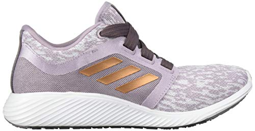adidas Women's Edge Lux 3 Running Shoe, Soft Vision/Copper met./ Vision Shade, 8.5 Standard US Width US 2