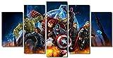 5 Piece Marvel Avengers Super Hero Wall...