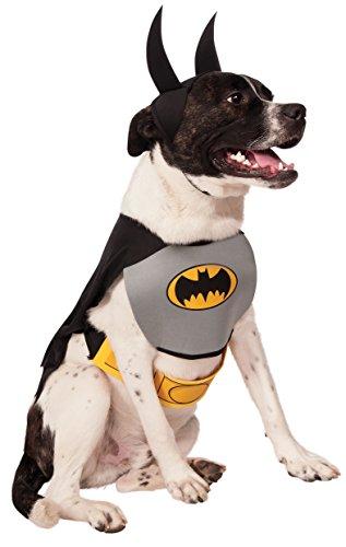 Rubie'S - Disfraz Oficial de Batman para Perro, Talla Grande