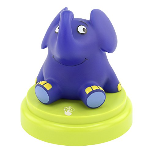 ANSMANN LED Kinder Nachtlicht Elefant - Süße Baby & Kind Einschlafhilfe mit Touch Sensor - Kinderlampe ideal als Babylicht Kinderlicht Nachtlampe Nachttischlampe Stilllicht im Kinderzimmer