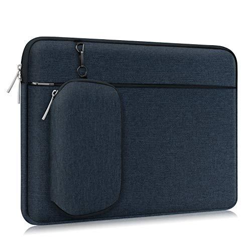 Alfheim 14 Zoll Laptop Hülle Tasche, Wasserdicht Stoßfest Leichte Tasche mit Zubehörtasche, Notebook-Schutzhülle mit Abnehmbarer Kleiner Tasche, Kompatibel für HP/Lenovo/Dell/ACER/ASUS
