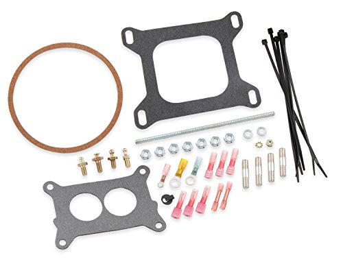 Sniper EFI Installation Kit Includes (4) Carb Studs/Nuts Throttle L - Holley 520-1