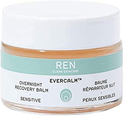 REN Clean Skincare Evercalm Overnight Recovery Balm, 1 Fl Oz