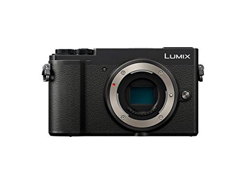 Panasonic Lumix GX9 | Fotocamera ibrida compatta (sensore 4/3 20 MP, doppia stabilizzazione, mirino inclinabile, schermo inclinato, tact, AF DFD, video 4K, Bluetooth e Wi-Fi, colore: nero