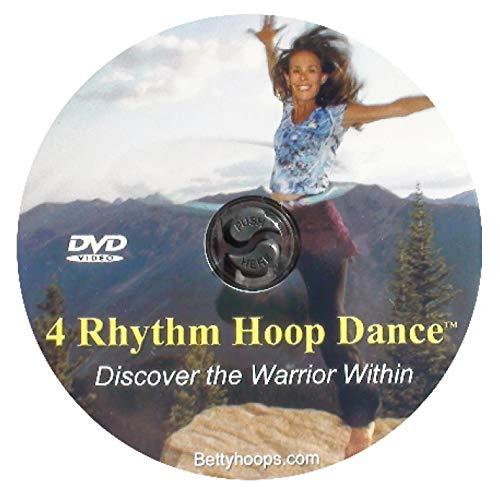 Betty Hoops Revolove 2 Evolve - 4 Rhythm Hoop Dance DVD - Mind Body Fitness - In Home Fitness