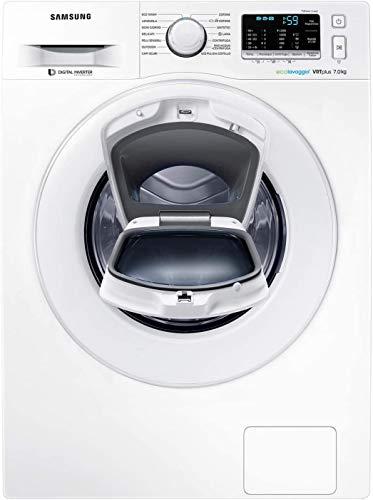 Samsung WW70K5210XW Lavatrice Slim 7 kg AddWash, Profondità 46,5 cm, 1200 rpm, Bianco