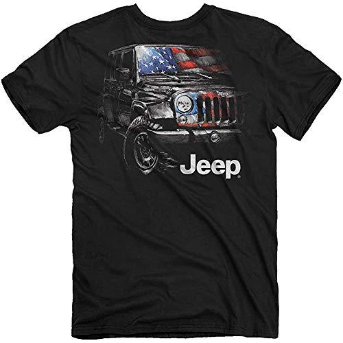Jeep American Tough T-Shirt (M) Black