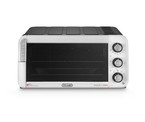 DELONGHI EO12562 Sfornatutto Electric Mini Oven, 1400 W, Black/Grey, 12 liters