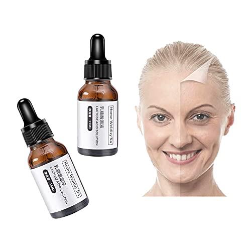 Wrinkless Anti-Aging Serum, Pore Cleansing Serum Lactobionic Acid Serum Boost Skin Collagen, Brighten Hydrate & Plump Skin, Always Young (2PCS)
