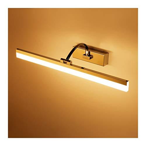 - Badkamerlamp LED waterdicht moderne badkamerspiegel voorlamp anti-condens-minimalistische badkamer kabinet voor 5 jaar WC LED creatief met lichtbron spiegelkast licht badkamerlamp