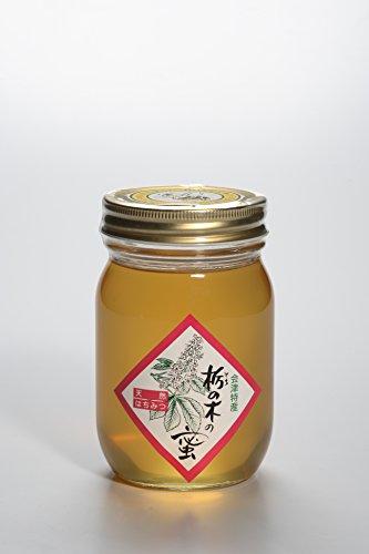 【ハニー松本】会津産天然蜂蜜 栃の木の蜜 500g