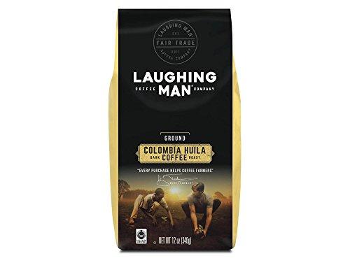 Laughing Man Columbia Huila, Ground Coffee, Dark Roast, Bagged 12 oz $7.98