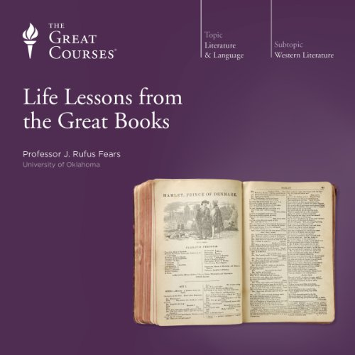 Life Lessons from the Great Books audiobook cover art
